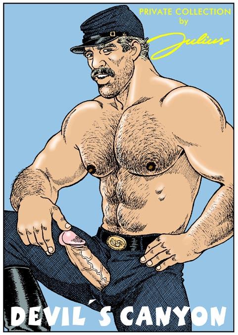 julius gay comics devils canyon
